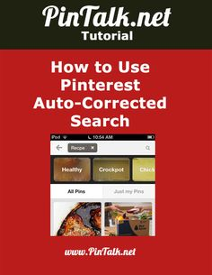 Pinterest Auto-Corrected Search. Marketers sometimes use typos and misspellings as part of their pay-per-click (PPC) and search engine optimization (SEO) campaigns. It is a way to net cheaper clicks on ad platforms such as Google AdWords. That does not seem to be a realistic marketing strategy for Pinterest.