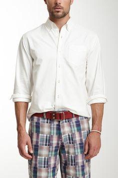 Contrast Stitch Oxford Shirt