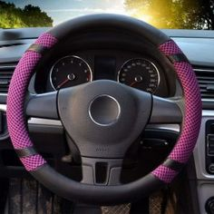 New Dodge Ram Elite Series Synthetic Leather Car Truck Steering Wheel Cover