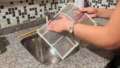 Cómo limpiar un filtro de aire acondicionado | eHow en Español Decor, Air Filter, Housewife, Hacks, Home, Decoration, Decorating, Deco