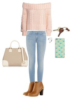 A day in the city by taylor0016 on Polyvore featuring polyvore, fashion, style, H&M, 7 For All Mankind, Tory Burch, Crate and Barrel and clothing