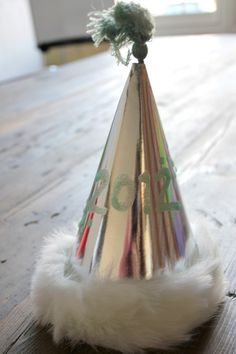 Ashley - not New Years themed of course but maybe we can have lace and jewelry for guests to decorate their party hats