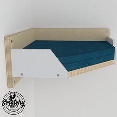 Wally Corner Plus Cat Shelf Cat Step Cat Gift Wall Mounted