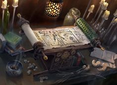 ArtStation - Scroll of the Masters, Lake Hurwitz