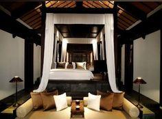 cosy interiors at Nam Hai Hoi An #vietnam #luxury