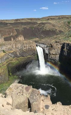 Palouse Falls State Park   Travel   Vacation Ideas   Road Trip   Places to Visit   LaCrosse   WA   Campground   City Park   Natural Feature   Hiking Area   Scenic Point