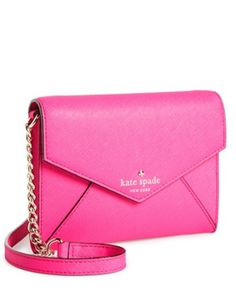 bright pink kate spade crossbody bag http://rstyle.me/n/pwjehr9te