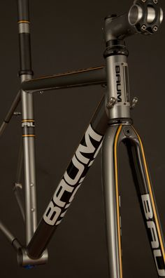 GTR, Grey, Charcoal, Corretto by Baum Cycles, drool!!!!