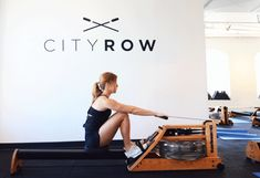 Your fear of the rower ends now. Hop on for a killer strength and cardio sweat session. #workout #rowing http://greatist.com/move/rowing-interval-workout