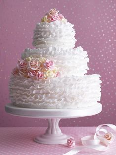 How to make a wedding cake – with recipes for different tin sizes