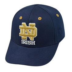 Infant Top of the World Notre Dame Fighting Irish Cub One-Fit Cap, Boy's, Blue (Navy)