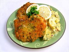"""Wiener Schnitzel  The classic Austrian dish, my best friend's husband own a resturant in Austria & oh boy I tell you.. They can cook some Austrian food """" Gast house"""" in my mind."""