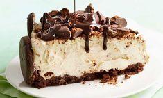 Εύκολο cheesecake με μπισκότα σοκολάτας και χωρίς ψήσιμο