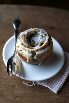 No-Yeast Cinnamon Roll Muffins (note: they do not turn out fluffy/flakey, but more cakey.  still delish, just not fluffy)