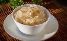 Dušené kysané zelí Mashed Potatoes, Soup, Paleo, Ethnic Recipes, Whipped Potatoes, Smash Potatoes, Beach Wrap, Soups, Paleo Food
