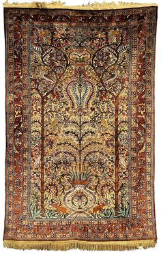 Antique Silk Souf style carpet...
