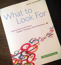 """""""Loving this new read that supports our Learning @ School collaborative inquiry focus around mathematics! Thanks to my wonderful friend @heather.jelley for…"""""""