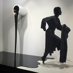 "SELFRIDGES,London,UK, ""CAUTION WET PAINT"", close-up, pinned by Ton van der Veer Retail Windows, Store Windows, Men's Fashion Black And White, Selfridges London, Showroom Design, Drip Painting, Visual Display, Window Design, Retail Design"