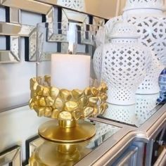 Diy Room Decor Videos, Diy Crafts For Home Decor, Diy Crafts Hacks, Diy Crafts For Gifts, Diy Wall Decor, Diy Projects Videos, Diy Wall Art, Diy Candle Holders, Diy Candles