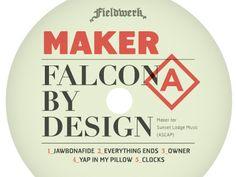 Falcon Label  by Adam R Garcia