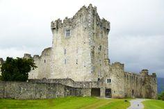 Ross Castle in Killarney, Co Kerry