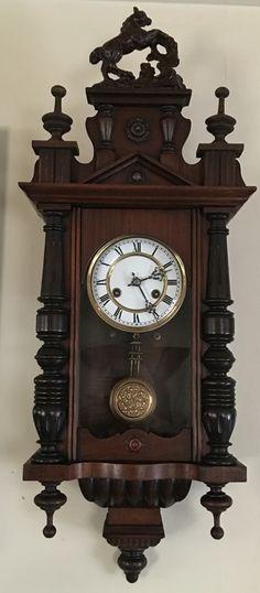 Antique Black Forest Thomas Haller wall clock