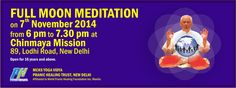 Full Moon Meditation, New Delhi, Foundation, November, Join, Healing, Memes, November Born, Therapy
