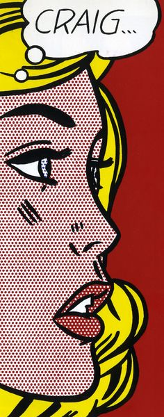 Roy Lichtenstein art • b. 1923 Oct27, d. 1997 Sep29 @73 • Am. 1960s pop artist pioneer • http://en.wikipedia.org/wiki/Roy_Lichtenstein • http://www.lichtensteinfoundation.org