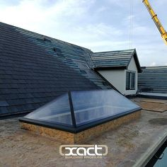 Welcome to Exact Architectural Glazing Aluminum Decking, Deck Canopy, Roof Lantern, Rear Extension, Roof Window, Roof Light, Glass Roof, House Extensions, Modern Kitchen Design