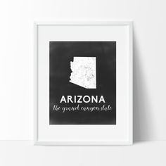 Arizona Printable by SamanthaLeigh on Etsy