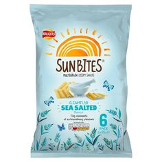 Walkers Sunbites Lightly Sea Salted 6X25g