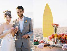 Malibu Beach Wedding Inspiration - Design: Beth Helmstetter, Photography: Braedon Flynn, Flowers: Dolce Designs Studio