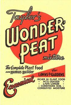 Taylor's Wonder-Peat: