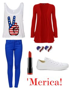 """4th of July outfit idea!⚪️"" by madison-lauterbur on Polyvore"
