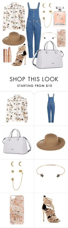 """Pretty summer look"" by dariaamethyst ❤ liked on Polyvore featuring Dorothy Perkins, M.i.h Jeans, Armani Jeans, Accessorize, Diamond Star, Anrealage, Giuseppe Zanotti and Charlotte Tilbury"