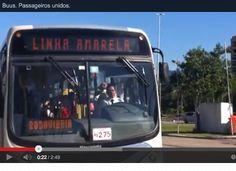 Um aplicativo diz a vc se o ônibus está perto, se está cheio, se vale a pena esperar outro