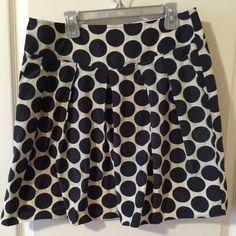 Spotted while shopping on Poshmark: Pleated polka dot skirt! #poshmark #fashion #shopping #style #Banana Republic #Dresses & Skirts