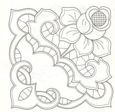Rose and decorative cutwork Cutwork Embroidery, White Embroidery, Embroidery Stitches, Machine Embroidery, Embroidery Designs, Paper Embroidery, Colouring Pages, Coloring Books, Applique Patterns