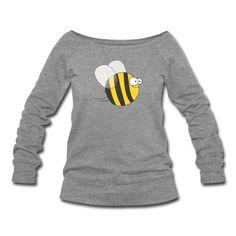 sweat-shirt Cool & Crazy Funny Bee / Bumble Bee (Sweet & Cute) #cloth #cute #kids# #funny #hipster #nerd #geek #awesome #gift #shop  mermaid earrings goddess of the sea mermaid jewelry siren abalone shell mermaid resort wear celestial beach wear high fashion gypsy boho