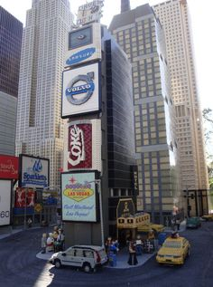 Time Square,at Lego Land California