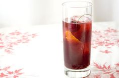 Lillet Rouge and Cherry Cocktail — Punchfork
