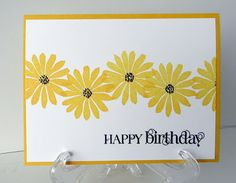 Debbie's CAS card uses Secret Garden and Curly Cute. All supplies from Stampin' Up!