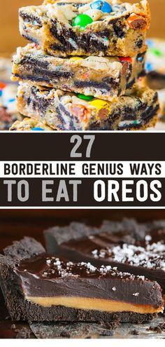 27 Borderline Genius Ways To Eat Oreos