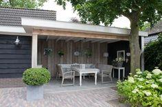 Bekijk de foto van ditismijngebruikers met als titel Buitenkamer met plat dak en andere inspirerende plaatjes op Welke.nl.