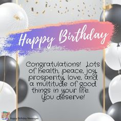 Happy Birthday Sister, Happy Birthday Messages, Belated Birthday, Happy Birthday Greetings, Birthday Wishes, Whipped Shortbread Cookies, Birthday Congratulations, Sister Quotes, You Deserve