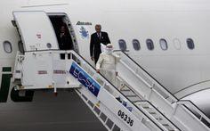 Inicio de la visita del Papa a Cuba y EEUU | El Papa Francisco llegó a La Habana en el inicio de histórica gira por Cuba y EEUU - Yahoo Noticias