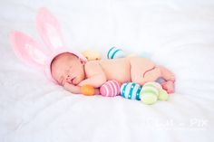 My baby will be born close to Easter. So cute! :)