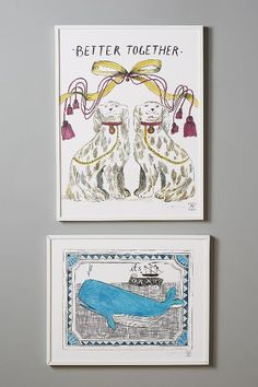 High Spirits Wall Art - anthropologie.com #anthrofave