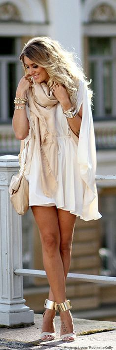 Style Know Hows: Chic white dress