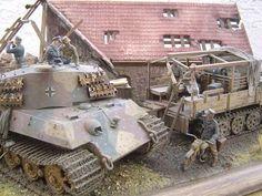 """Diorama """"Deutschland 1945"""""""